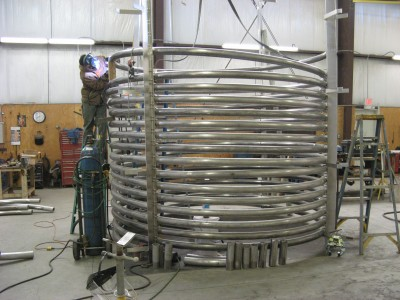 Pipe Coil Tanks